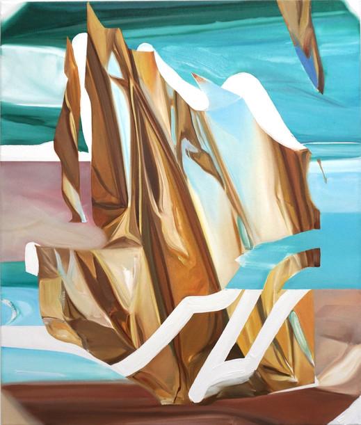 Break, oil on canvas, 65 x 55 cm, 2020