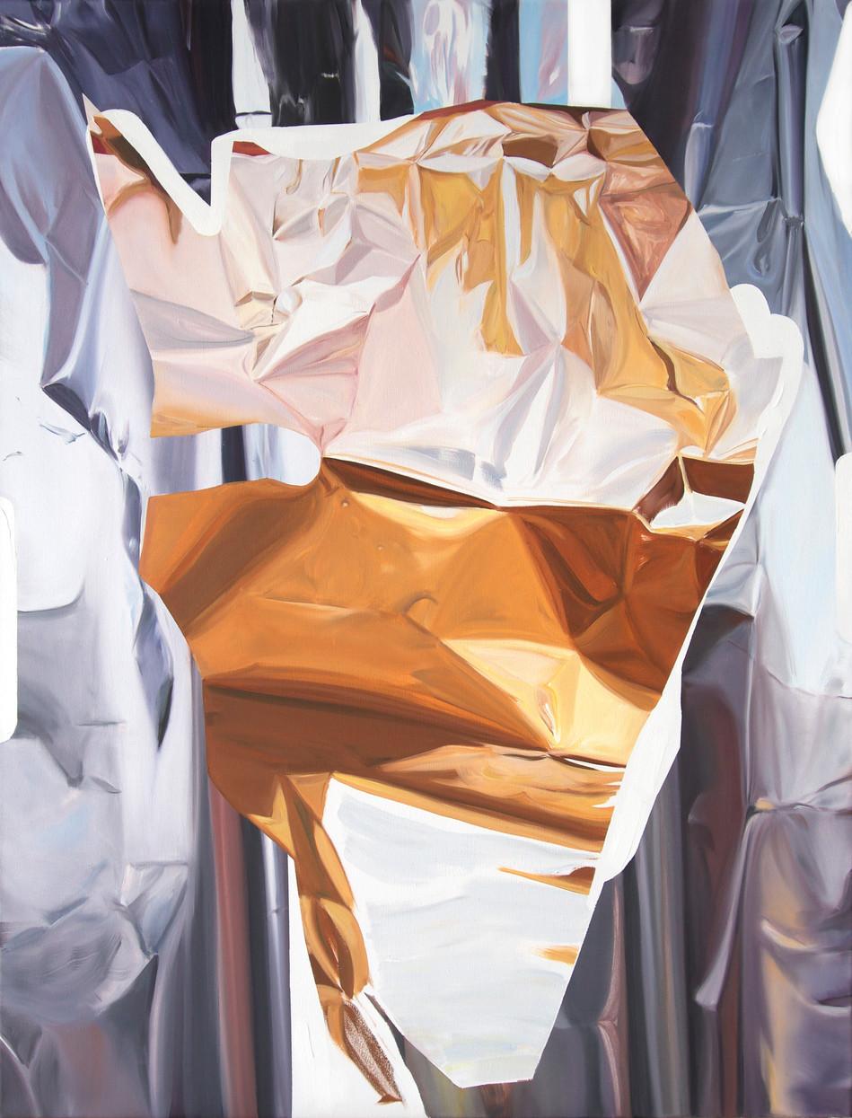 Bastard Amber, oil on canvas, 125 x 95cm, 2019