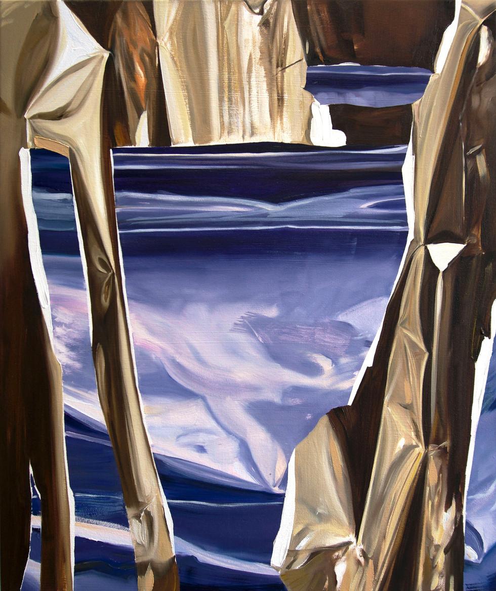 El Dorado, oil on canvas, 65 x 55cm, 2018