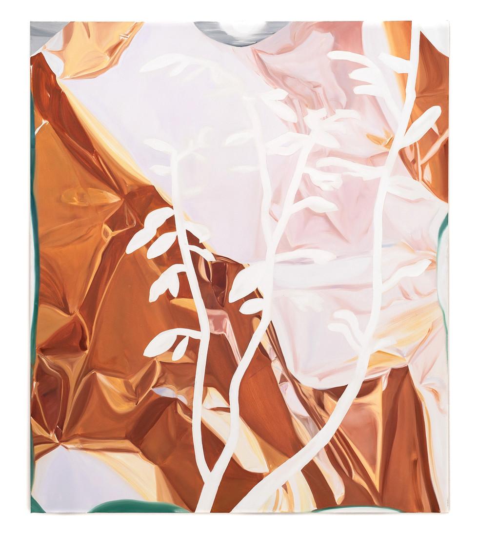 Veil, oil on canvas, 135 x 115 cm, 2020, photo: Christian Prinz