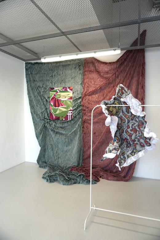 Exhibition view CRUST FLOW, Star 1, 2019