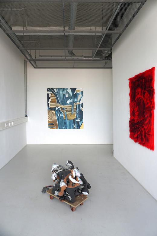 Exhibtion view CRUST FLOW, Star 1, 2019