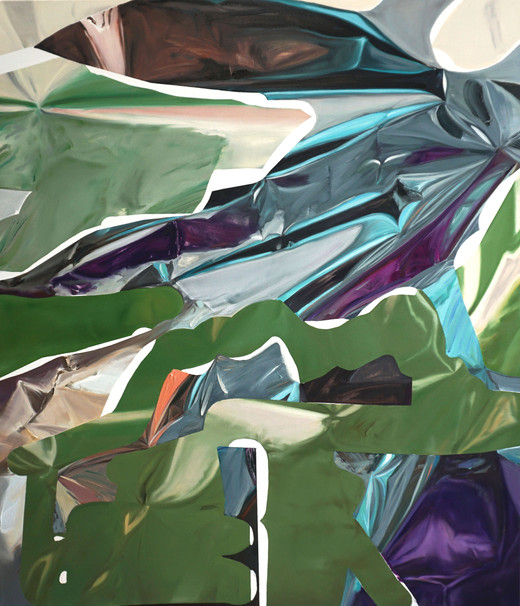 Inverse, oil on canvas, 120 x 103cm, 2018
