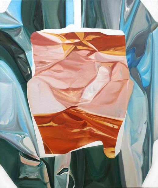 infinite, oil on canvas, 65 x 55 cm, 2020
