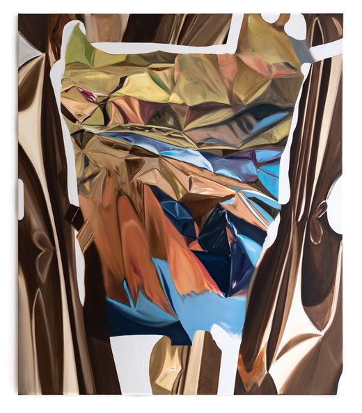 RE, oil on canvas, 135 x 115cm, 2020; photo: Christian Prinz