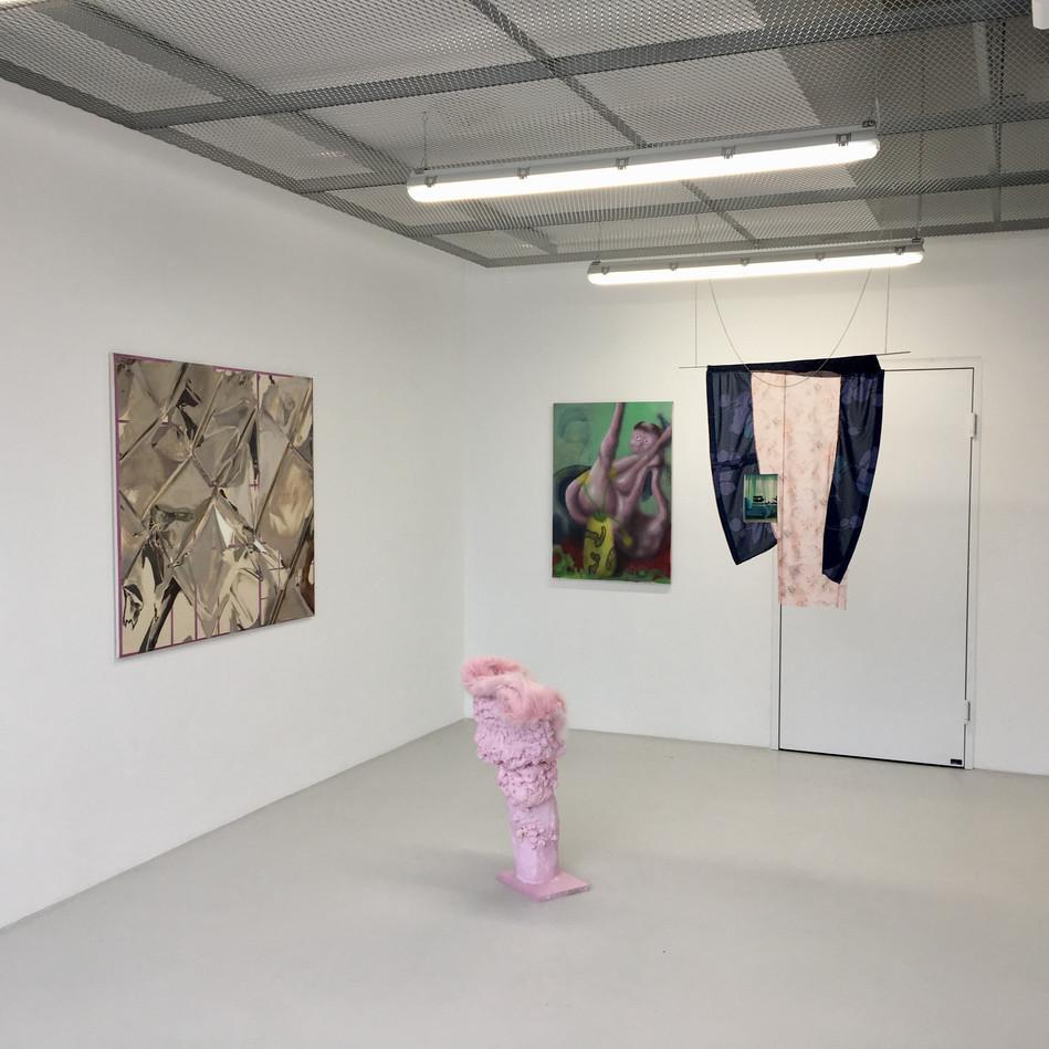 exhibition view NO MORE JUSTICE, Star, Vienna, 2019