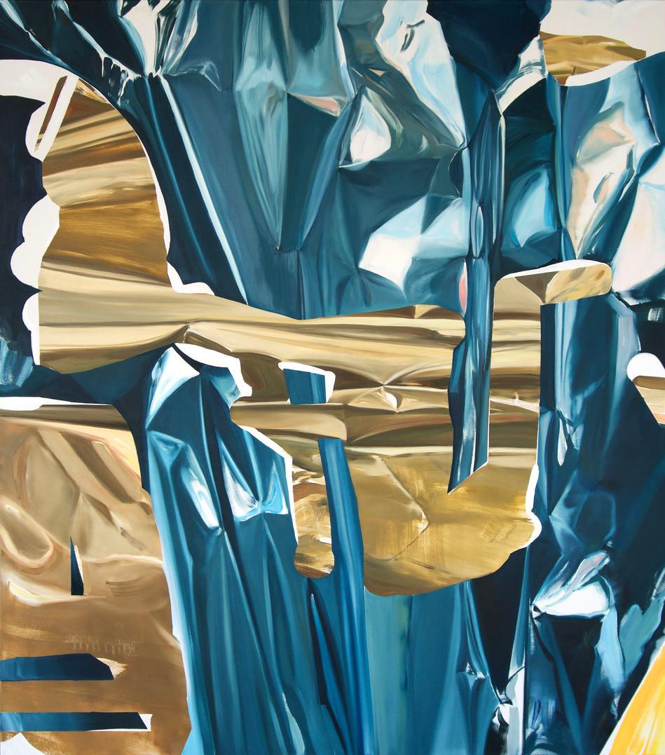 Antoine, oil on canvas, 160 x 140 cm, 2019