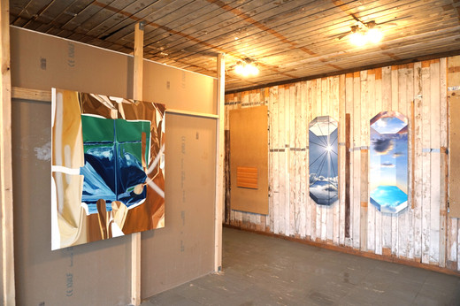 exhibition view FULL CIRCLE, Notgalerie Seestadt 2020