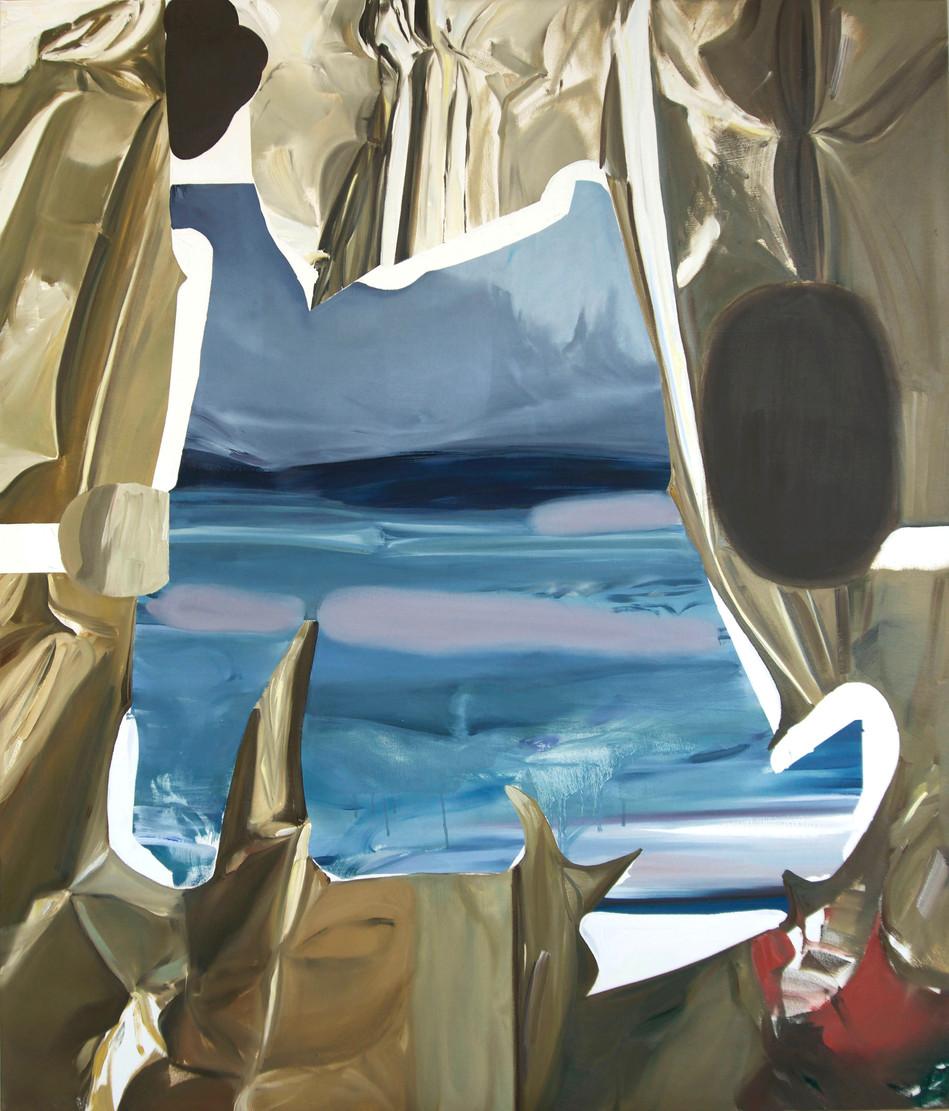 Marine G, oil on canvas, 130 x 110cm, 2019