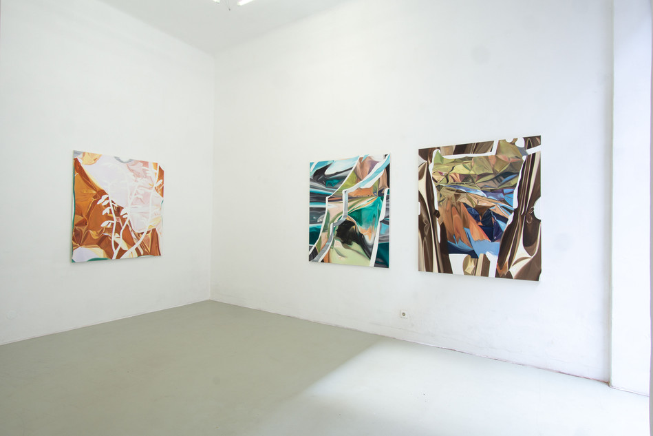 Ausstellungsansicht SCENIC, LLLLLL Vienna, 2020; photo: Christian Prinz