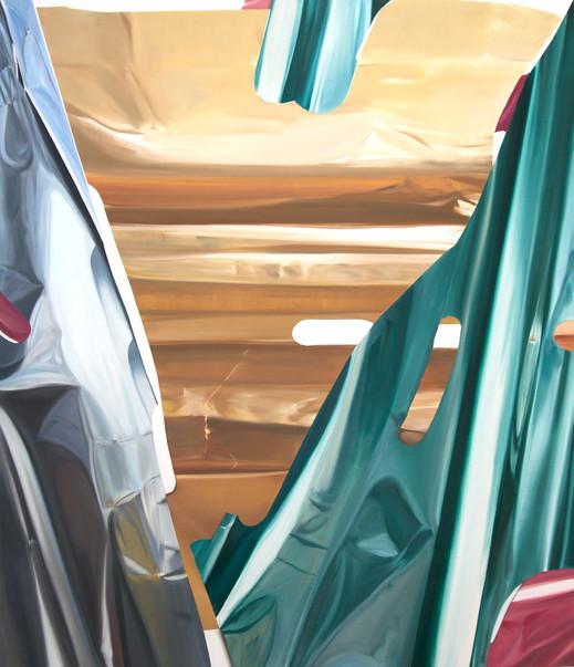 Promises Premises, oil on canvas, 130 x 110cm, 2019