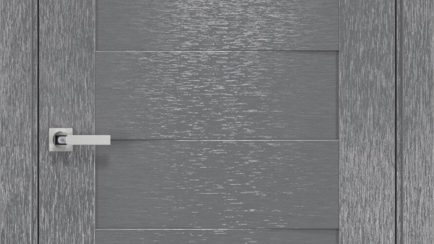 Двері Мюнхен шовк х-сірий глухе