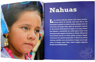 Con los ojos cerrados. Sueños de los niños indígenas