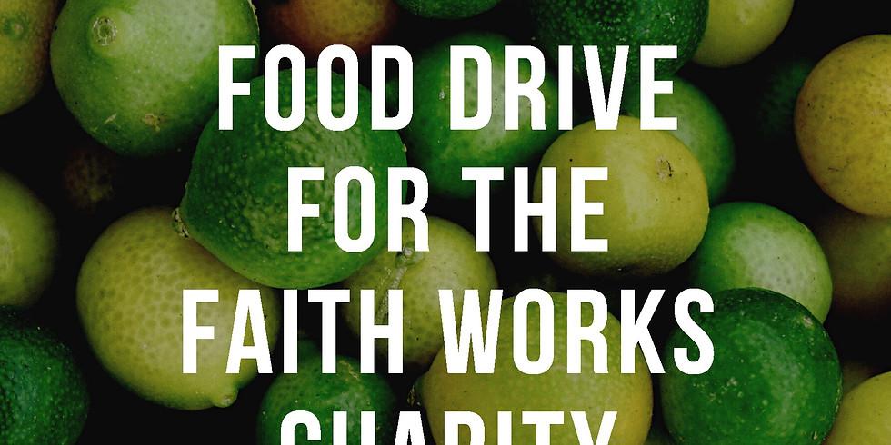 Faith Works Food Drive