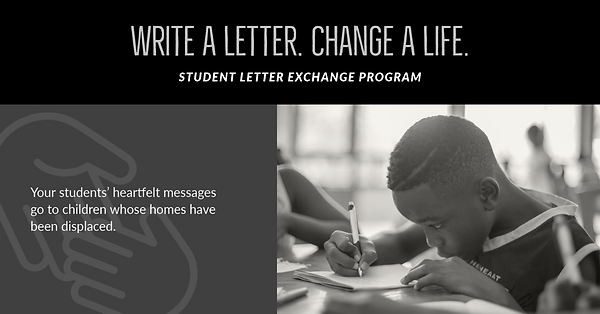 Write A Letter to a Family in Need