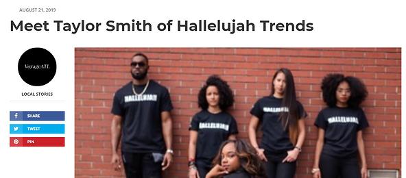 Meet Taylor of Hallelujah Trends
