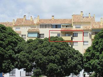 Espanja, Fuengirolassa kätevällä paikalla länsisuuntainen hyvätasoinen asunto