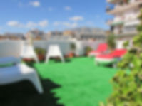 Hostal Nevada, Fuengirola, offers roof top terace to the accommodation guests