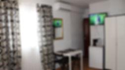 Fuengirola rooms with fridge, balcony, private bathroom, A/C . Centric Hostal Nevada