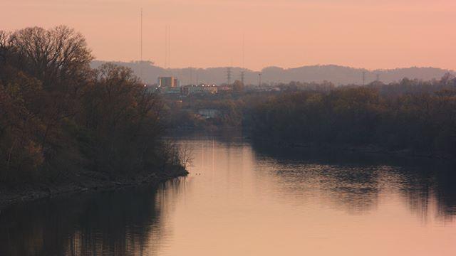 The Cumberland River at Dusk