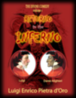 cover of epic poem of the inferno