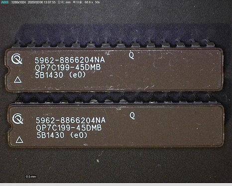 Part Number  :   QP7C199-45DMB (5962-8866204NA)