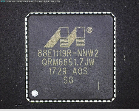 Part Number  :  88E1119R-NNW2