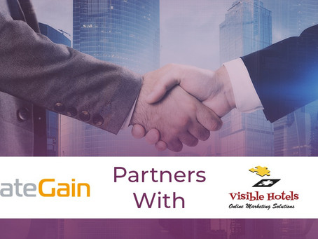 RateGain Technologies Announces Visible Hotels, Istanbul as their Regional Partners.
