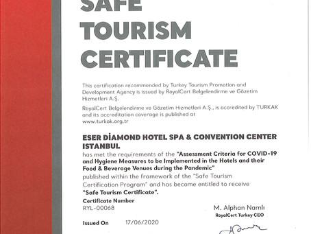 """""""Güvenli Turizm Sertifikası"""" Danışmanlığı"""