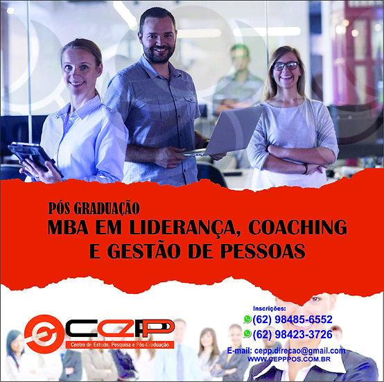 MBA EM LIDERANÇA, COACHING E GESTÃO DE PESSOAS