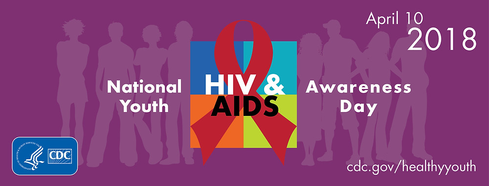 National Youth HIV & AIDS Awareness Day Banner