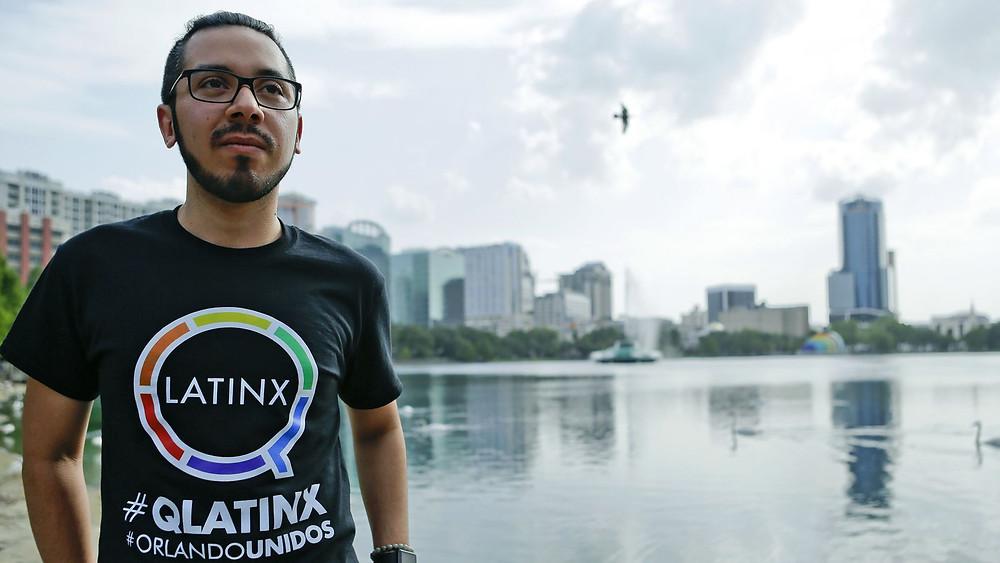 Christopher Cuevas, Executive Director of QLatinx