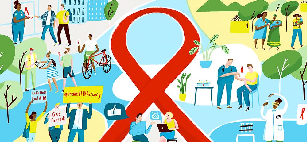 Make HIV History Banner