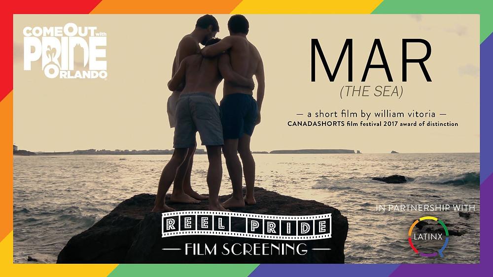 REEL PRIDE Film Screening Event Cover