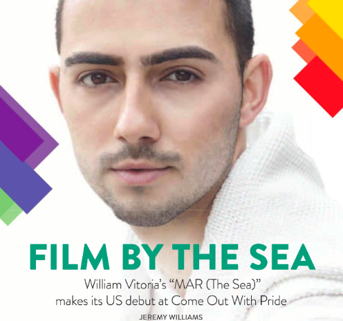 Interview by William Vitoria in Watermark Magazine, titled Film By the Sea