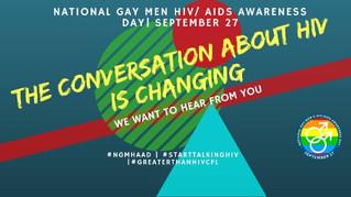 National Gay Men HIV Awareness Day