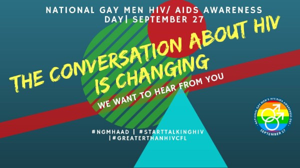 National Gay Men HIV/AIDS Awareness Day Banner