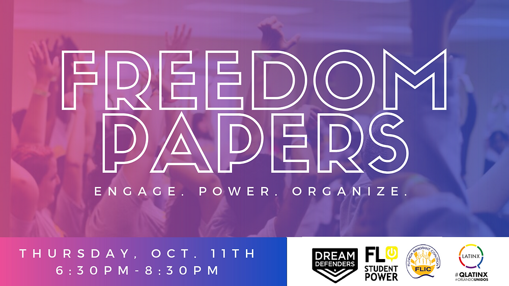 Freedom Papers Flyer