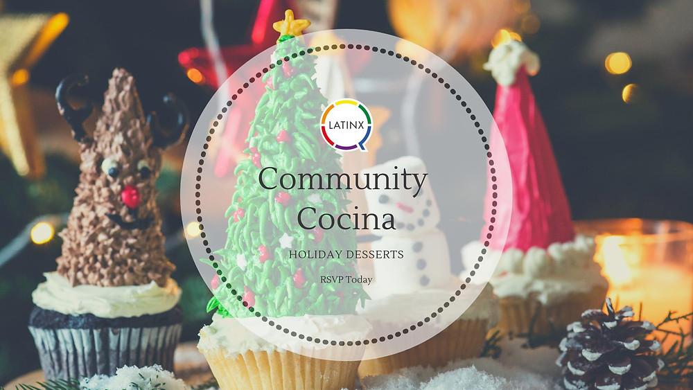 Community Cocina Cachapas Event Banner