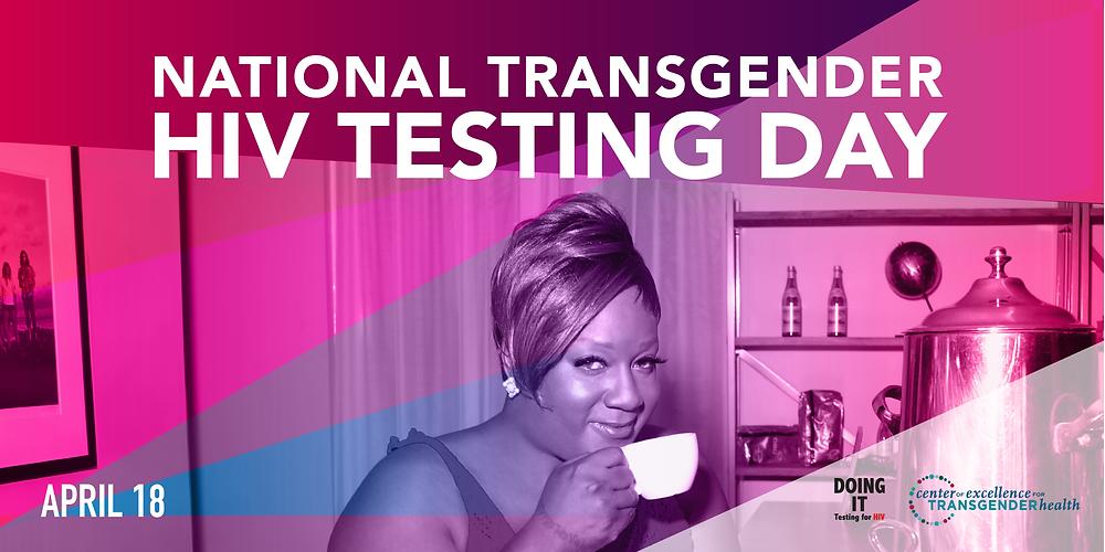 National Transgender HIV Testing Day Banner