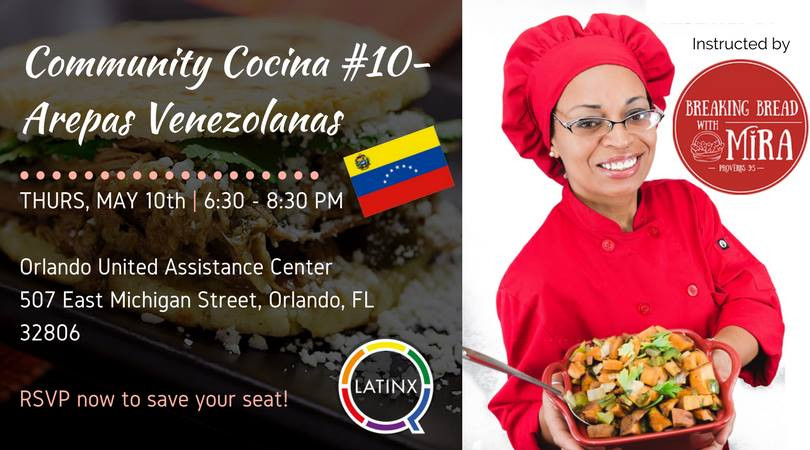 Community Cocina Event Banner