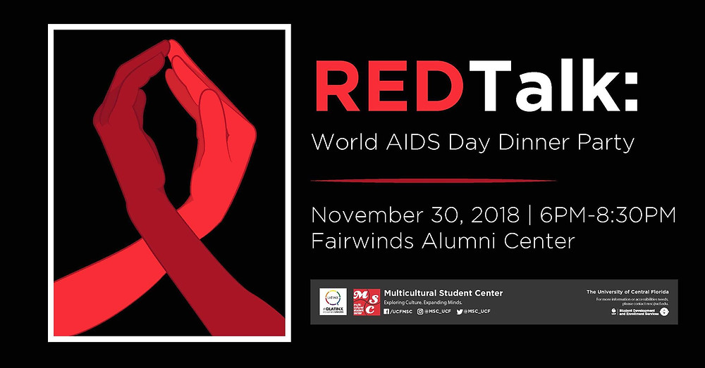 REDTalk: A World AIDS Day Dinner Party Event Cover