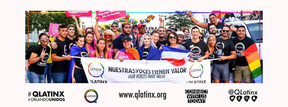 QLatinx at Orlando Pride 2018
