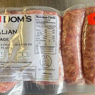 Dom's Sweet Italian Sausage