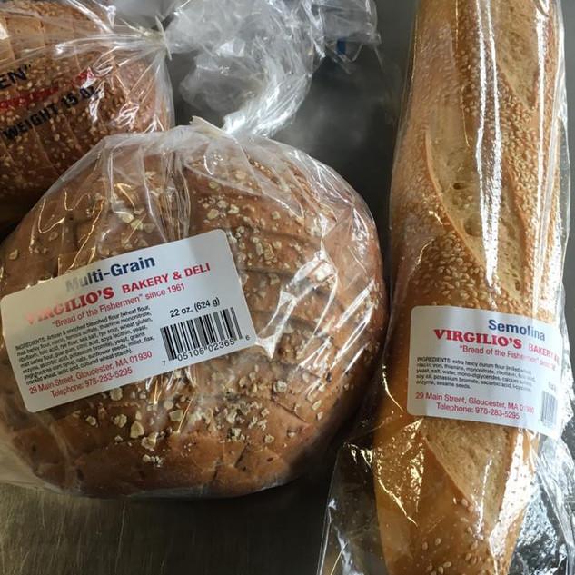 Virgilio's Bakery Bread