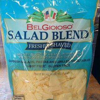 Blended Shaved Cheese