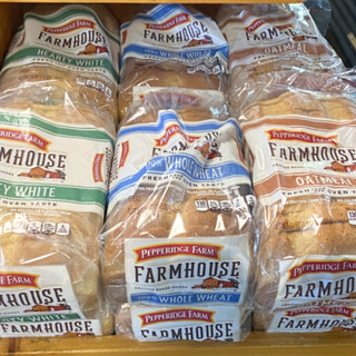 White, Wheat, & Oatmeal Sliced Breads
