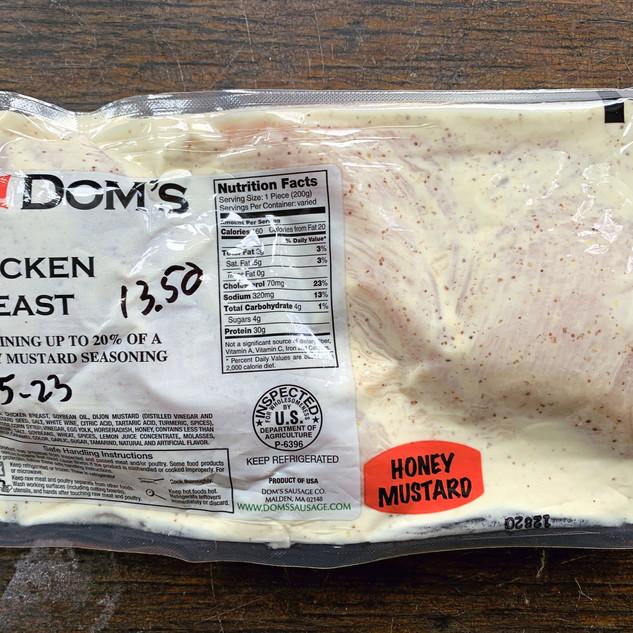 Dom's Chicken Breast - Honey Mustard