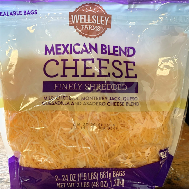 Shredded Mexican Cheese Blend