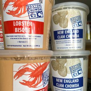 Boston Chowda Company Soups